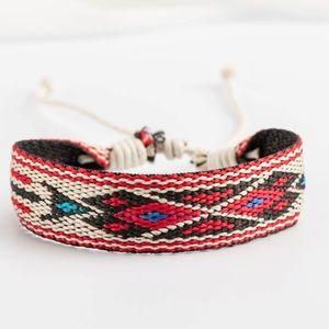 Handmade bracelet adjustable